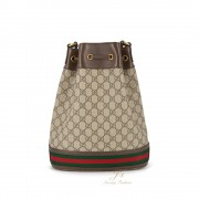 GUCCI OPHIDIA LARGE GG BUCKET BAG