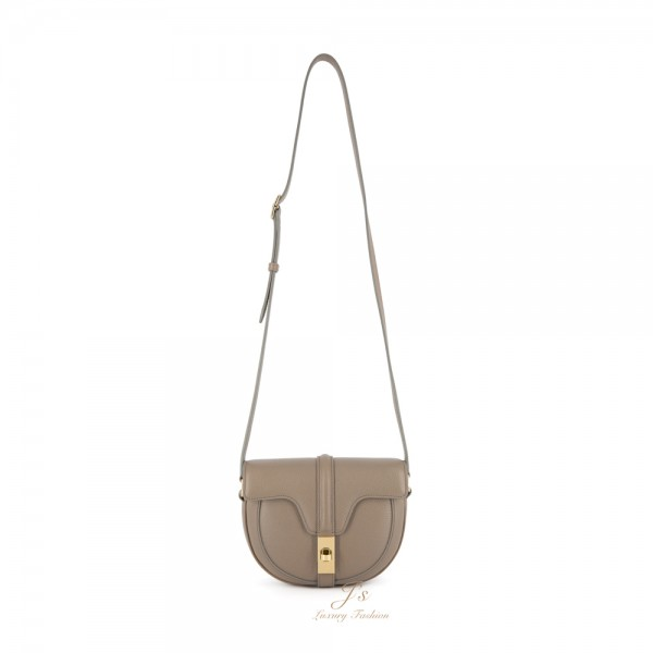 CELINE SMALL BESACE 16 BAG IN PEBBLE GRAINED CALFSKIN (NEW LOGO)