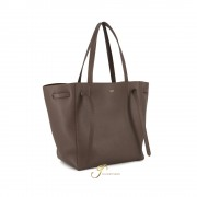 CELINE SMALL CABAS PHANTOM tote bag with belt in Ecorce (NEW LOGO)