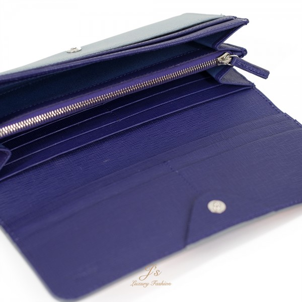 FENDI Crayons Continental Flap Wallet in Multicolour