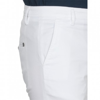 [Pre-Order]Dondup Trousers White