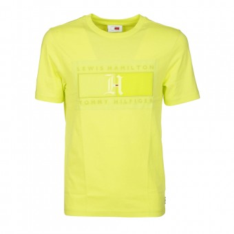 [Pre-Order]Tommy Hilfiger T-shirts and Polos Yellow